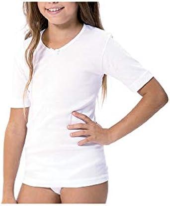 Lara - Camiseta NIÑA Termal Manga Corta Niñas: Amazon.es: Ropa y ...