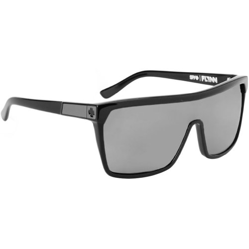Spy Flynn Sunglasses - Spy Optic Look Series Casual Wear Eyewear - Black with Matte Black/Grey / One Size Fits All