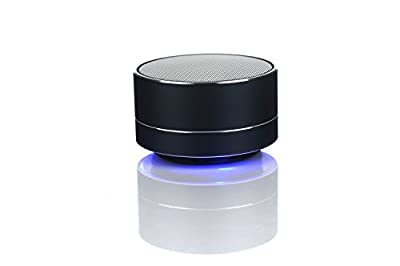 Portable Wireless Bluetooth Speakers Outdoor/ Sport with Hands-free Function, Built-in Mic, More bass for iPhone, iPad, Blackberry, Samsung black by SY