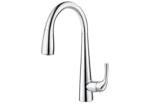 (Pfister GT72-ALCC Alea 1-Handle Bar/Prep Kitchen Faucet, Polished Chrome)