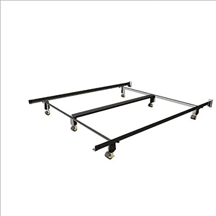 Amazon.com: Mantua Insta-Lock Metal Bed Frame - Queen/King/Cal. King ...