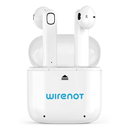 True Wireless Bluetooth Airbuds Earbuds Wirenot in-Ear Headphones with Mic Portable Charging Case Noise Cancelling Stereo Sports Sweat Proof Compatible with Apple/Samsung/Android (Xiaomi Wireless Bluetooth 4-1 Music Sport Earbuds Review)