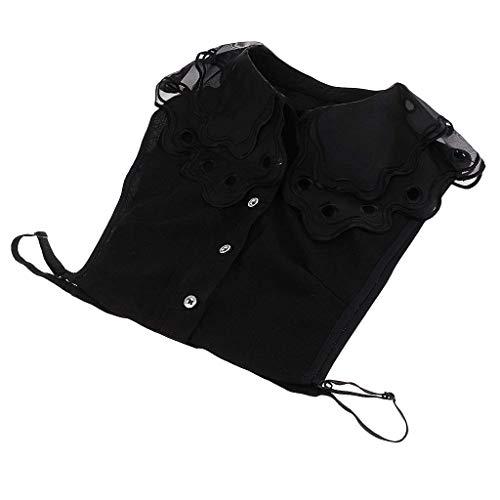Camicia Casual Moda Autunno Donne Eleganti Stlie Schwarz6 Single Shirt Grazioso Manica Breasted Giovane Camicetta Lunga Donna Bavero Monocromo Chiffon Primaverile Tops Blusa r6HwqrxTn