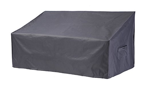 UPHA Patio 76 Inches Loveseat/Sofa Cover Waterproof Patio Furniture Sofa Cover with Secure Buckl ...