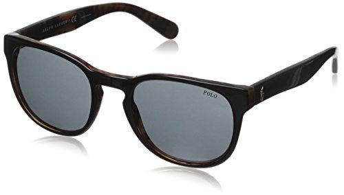 Polo Ralph Lauren Men's 0PH4099 Round Sunglasses, Top Black On Jerry Tortoise, 52 - Top Wayfarer Sunglasses Brands