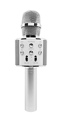 MR. MICROPHONE As Seen on TV - Wireless Karaoke Microphone, Portable Handheld Rechargeable Karaoke Speaker Machine for Boys Girls Kids Singing, Compatible with iPhone Android PC
