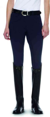 Olympia Womens Breeches Ariat Front Fit Regular Navy Beige Zip 65wqwSd