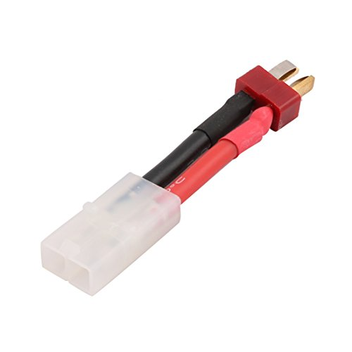 uxcell 7.5cm Length Male to T-Connector Female Adapter Wire Cable for RC Helicopter ESC Battery