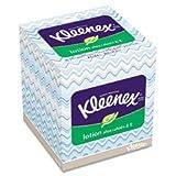 KLEENEX Lotion Facial Tissue, 3-Ply, 75 Sheets per Box, Sold as 1 Box