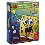 Spongebob Squarepants Fruit Flavored Snacks 8 oz (Pack of 10)