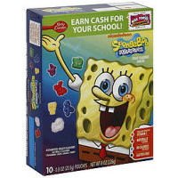 Spongebob Squarepants Fruit Flavored Snacks 8 oz (Pack of 10) by Fruit Snacks