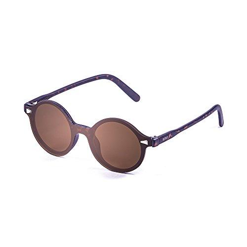 Ocean Sunglasses Elisa Lunettes de Soleil Mixte Adulte, Marron Foncé