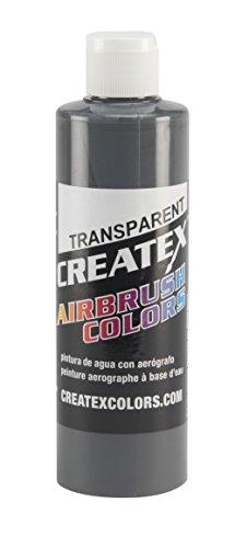 for Airbrush, 8 oz, Transparent Medium Gray ()