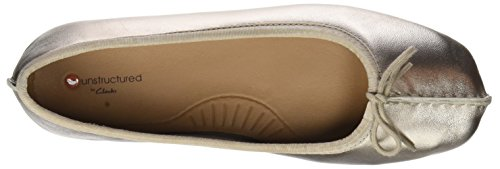 Or gold Clarks Femme Ice Metallic Ballerines Freckle qvZHT