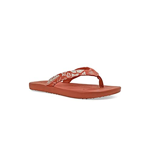 0358691cd6ac on sale Soft Science Women s The Waterfall Palm Flip Flops - pilot ...