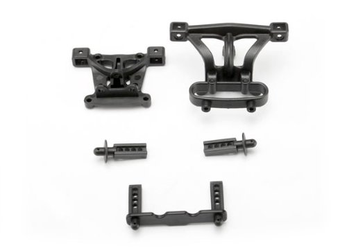 Traxxas 7015 Body Mounts and Body Posts (Traxxas Revo Parts)
