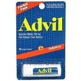 Advil Pocket Pack 200mg Tablets, 10 ea