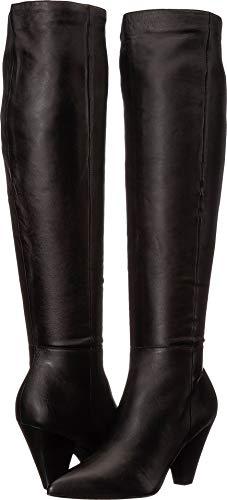 ALDO Women's Adwecia Black Leather 6 B US (Aldo 6 Size)