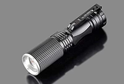 1 Set 2000 Lumen 7W Q5 LED Flashlights Mini Penlight Waterproof Military Torch Overwhelming Fashionable Quick Coast High Lumens Bright Light Holder Camping Flashlight