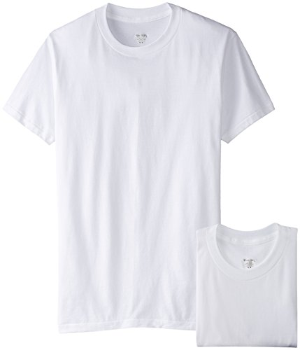Stanfield's Cotton Crew Neck T-Shirt (2 Pack), White, Large