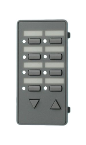 Leviton DCKS7-CG Color Change Kits for Mural Scene Controller, No Text, Gray ()