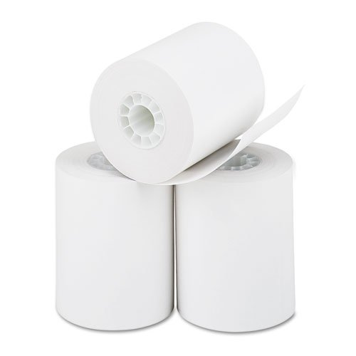PM Company Thermal Calculator Rolls, 2-1/4 Inches x 85 Feet, White, 3/Pack (05233)