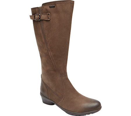 Cobb Hill Women's Rayna Wide Calf Rain Boot - Stone - 8.5...