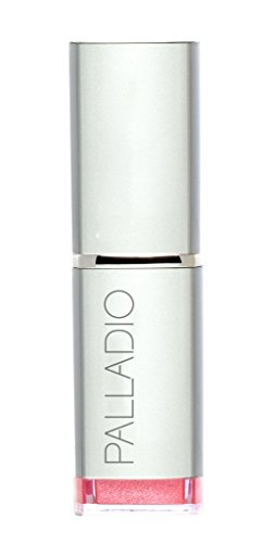 Palladio Herbal Lipstick, Petal Pink, Rich Pigmented and Creamy Lipstick, Infused with Aloe Vera, Chamomile & Ginseng, Prevents Lips from Drying, Combats Fine Lines, Long Lasting Lipstick