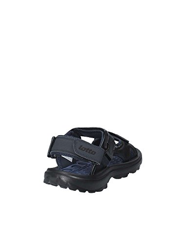 azul azules Thari hombre Sports marino Lotto para negro Sandalias 020 negro de Y0SwY