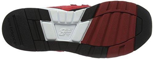 New Balance 597, Zapatillas para Hombre Multicolor (Red/Black)