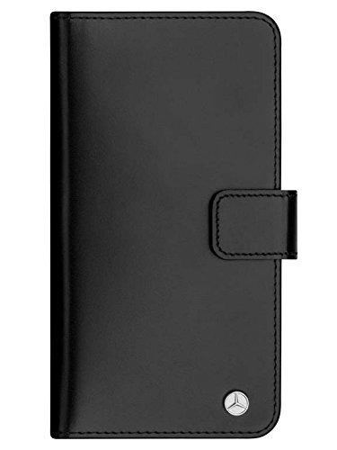 Mercedes-Benz Handyhülle / Case schwarz leder iPhone 7