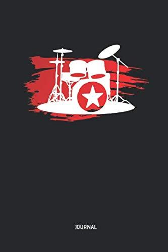 Drummer | Journal: Lined Drum Notebook