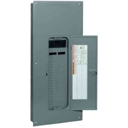 Square D by Schneider Electric QO142M200PCVP QO Square D 200 Amp Space 42-Circuit Plug-on Neutral Indoor Main Breaker Load Center with Cover Value Pack