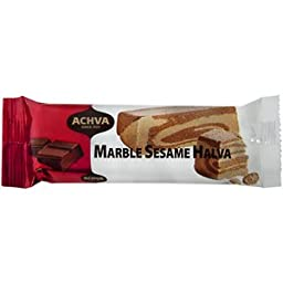 Achva Halva Bar Marble Sesame 70g (Pack of 3)