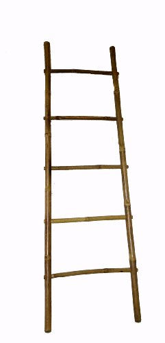 Bamboo Ladder Rack, 60H