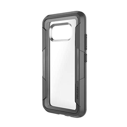 Pelican Voyager Samsung Galaxy S8 Active Case (Clear/Grey)