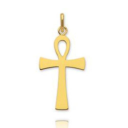 Ysora - Pendentif Or Croix De Vie Egyptienne - 750 ‰ - 1,7 cm