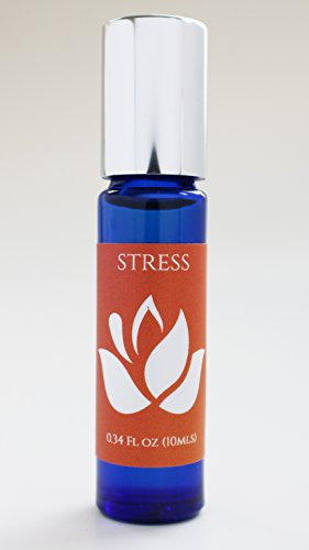 Aromatherapy Essential Oil Roll On. Stress Relief-100% Natural. 10mls.
