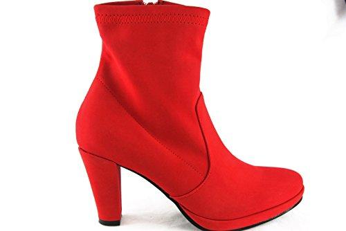 Andrea Conti Stiefel Stiefelette High Heel 1128544 Rot 2042
