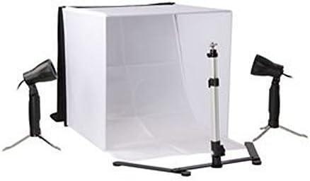 Tienda de fotografía Ligera 40 * 40cm Caja de luz fotográfica ...