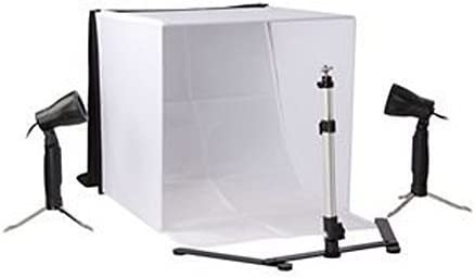 Tienda de fotografía Ligera 40 * 40cm Caja de luz fotográfica Tienda de fotografía portátil Estudio de fotografía Plegable Kit de Estudio: Amazon.es: Electrónica