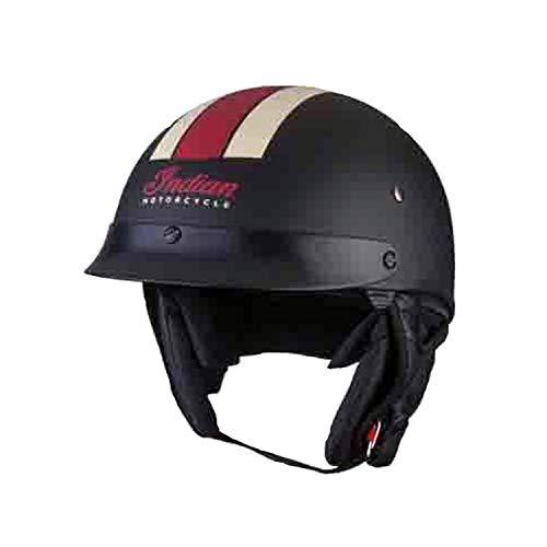 (Indian Motorcycle Half Helmet 1 - Large)