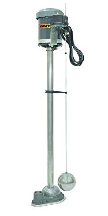 AMT Pump Industrial/Commercial Sump Pump, Stainless Steel