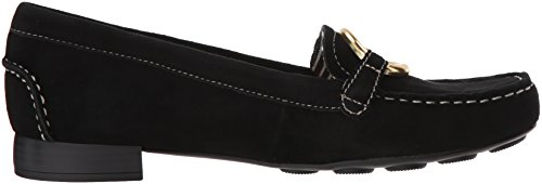 Anne Klein Women's Harmonie Loafer Black Suede Gy2vs