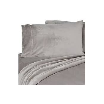 Cozy 6-Pc Queen Velvet Touch Sheet Set with MicroPlush Pillow cases