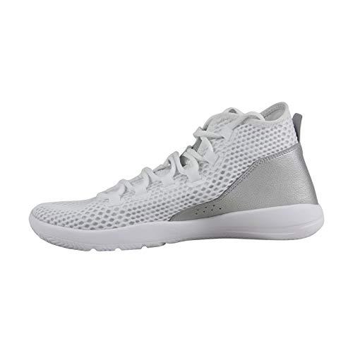 uk availability 38baa 748de Nike Jordan Reveal White Black Silver Men s Basketball Shoes Size 10.5