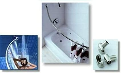 Mounting Kit For Crescent Suite Curved Shower Curtain Rod Holder SS