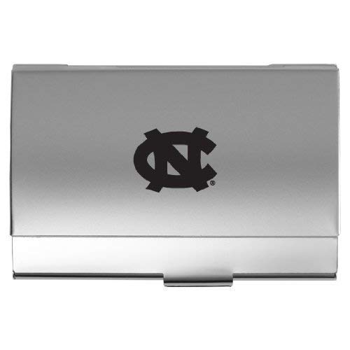 (LXG, Inc. University of North Carolina at Chapel Hill - Two-Tone Business Card Holder - Silver)