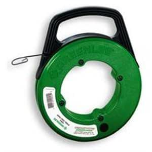 Greenlee 438 10 125 39 x 1 8 steel fish tape in winder case for Greenlee fish tape