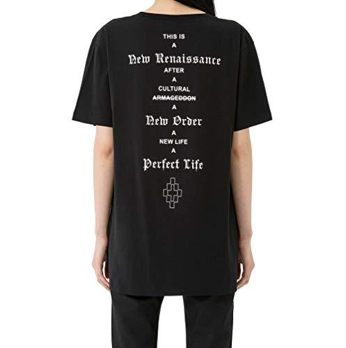 T Burlon Nero Cotone shirt Donna Marcelo Cwaa019e170470591001 6TqZx5